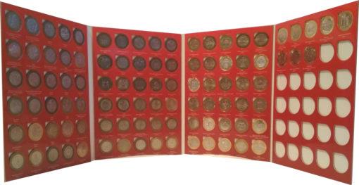 набор биметаллических монет