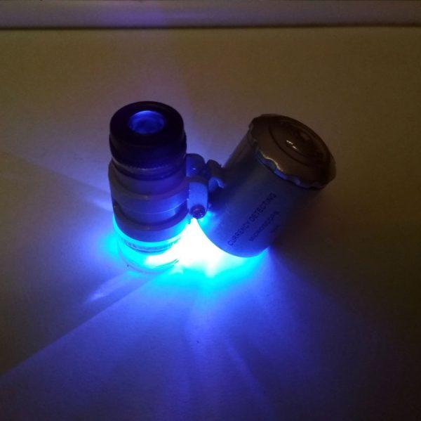 Портативный карманный микроскоп
