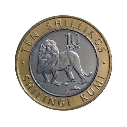 10 шиллингов - Лев