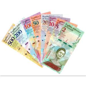 Набор банкнот Венесуэлы 2018