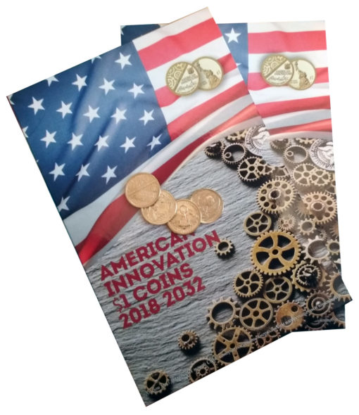 Альбом для монет серии «Американские инновации»