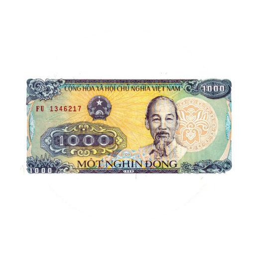 1000 донг 1988 года. Вьетнам